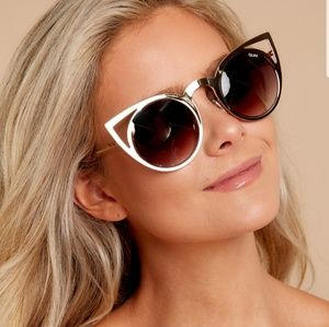 Quay invader cat eye sunglasses
